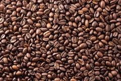 Kaffeebohnen Arabicatapete Lizenzfreie Stockfotografie