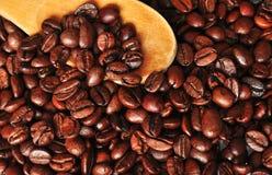 Nahtloses Muster des Kaffees. Stockfoto