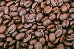 Kaffeebohnen - Büroreizmittel Lizenzfreie Stockbilder