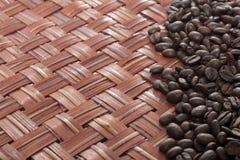 Kaffeebohnen - Foto auf Lager Lizenzfreie Stockfotos