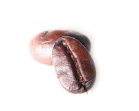 Kaffeebohnen getrennt Lizenzfreie Stockbilder
