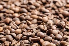 Kaffeebohnen, Nahaufnahme Lizenzfreies Stockfoto