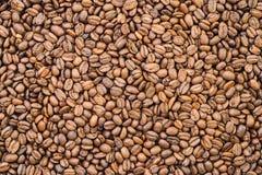 Kaffeebohnen - organisch Stockfotos