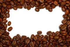 Kaffeebohnerand Lizenzfreies Stockfoto
