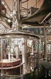 Kaffeebrauerei Stockbild