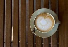 Kaffeecappuccinoschale Lizenzfreie Stockfotografie