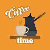 Kaffeedesign Lizenzfreies Stockfoto