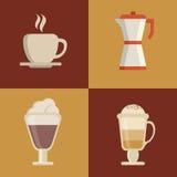 Kaffeedesign Lizenzfreie Stockbilder