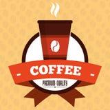 Kaffeedesign Stockbilder