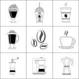 Kaffeedesign Lizenzfreie Stockfotos