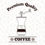 Kaffeedesign Lizenzfreies Stockbild