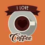 Kaffeedesign Stockfotos