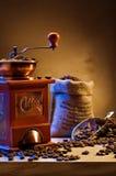 Kaffeeeinzelteile Lizenzfreie Stockbilder
