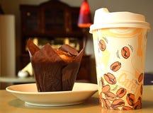 Kaffeeessen zum mitnehmen-Schale Lizenzfreie Stockbilder