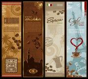 Kaffeefahnen Lizenzfreies Stockfoto