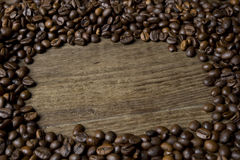 Kaffeefeld Lizenzfreie Stockfotos