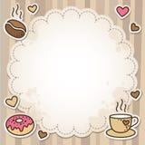 Kaffeefeld lizenzfreie abbildung