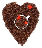 Kaffeegeliebter Stockbild