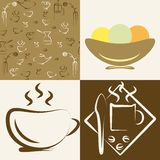 Kaffeehaus Vektor Abbildung