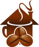 Kaffeehaus Stockfoto