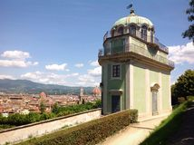 Kaffeehaus in Boboli gardens in Florence, Italy Royalty Free Stock Photo