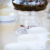 Kaffeeheizung Lizenzfreies Stockfoto