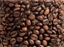 Kaffeehintergrund Lizenzfreie Stockfotos
