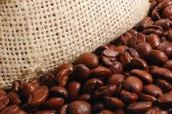 Kaffeehintergrund Stockfotos