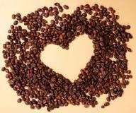 Kaffeeinneres Lizenzfreie Stockfotografie