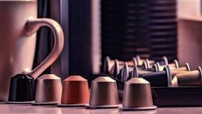 Kaffeekapsel Lizenzfreies Stockbild