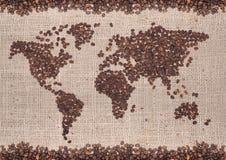 Kaffeekarte lizenzfreie stockbilder