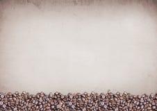 Kaffeekonzept, Bohne Lizenzfreie Stockbilder