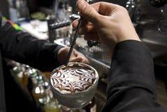 Kaffeekunst Lizenzfreie Stockbilder
