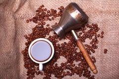 Kaffeeliebe Stockfotografie