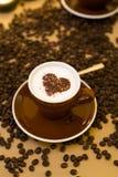 Kaffeeliebe Stockbild