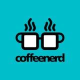 Kaffeelogoschablone Lizenzfreie Stockbilder