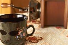 Kaffeemühle Stockfoto