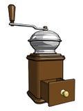 Kaffeemühle lizenzfreie abbildung