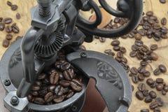 Kaffeemühle Stockbild