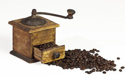 Kaffeemühle-BIS Lizenzfreies Stockbild