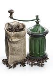 Kaffeemühle Vintage stockfotos