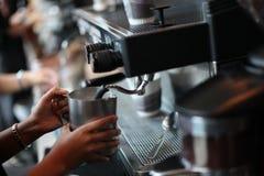 Kaffeemaschine Stockfotografie