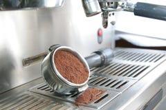 Kaffeemaschine oder Maschine Stockbild