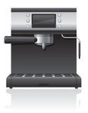 Kaffeemaschine-Vektorillustration Lizenzfreie Stockbilder