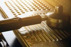 Kaffeemaschineausrüstung Lizenzfreies Stockfoto