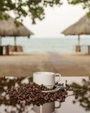 Kaffeemeer Stockbild