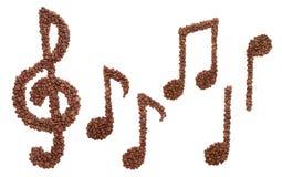 Kaffeemelodie Lizenzfreies Stockfoto