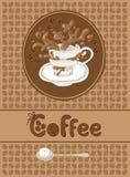 Kaffeemenü Lizenzfreies Stockfoto