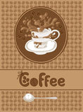 Kaffeemenü Vektor Abbildung