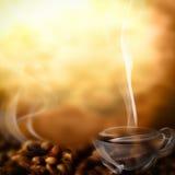 Kaffeemenü Lizenzfreie Stockbilder